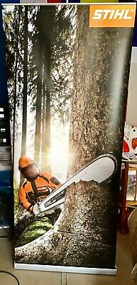 STIHL large roller banner with carry case great condition