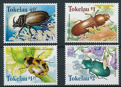 [H16624] Tokelau Islands 1998 INSECTS Good set of stamps very fine MNH