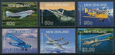 [H16865] New Zealand 2001 AVIATION & PLANES Good set of stamps very fine MNH