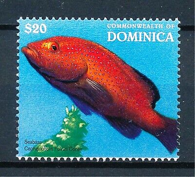 [H11946] Dominica 1996 : Fish - Good Very Fine MNH Stamp - $30