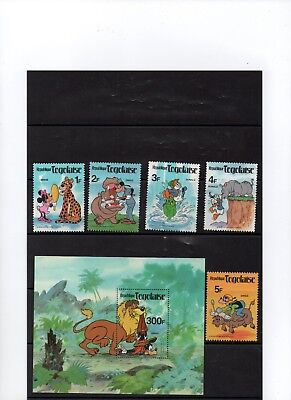 Never Hinged 1980 Pluto Of Walt-disn complete Issue Togo 1496 Unmounted Mint
