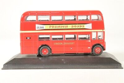 Atlas Great British Buses Die Cast Bus 1:76 Scale LONDON TRANSPORT RTW