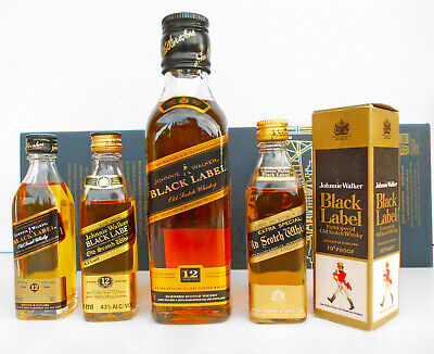 Johnnie Walker  Vintage Black Label  Whisky Minis-Rare!!!