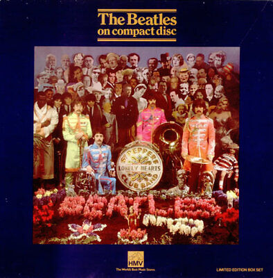 THE BEATLES Sgt Peppers Lonely Hearts Club Band ~1987 UK HMV Numbered CD Box Set