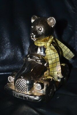 Rupert Bear Silver Plated Car Money Bank with scarf 1982 Daily Express