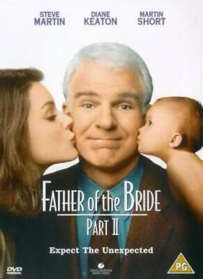 Father of the Bride Part II [DVD] [1996] By Steve Martin,Diane Keaton,Charles.