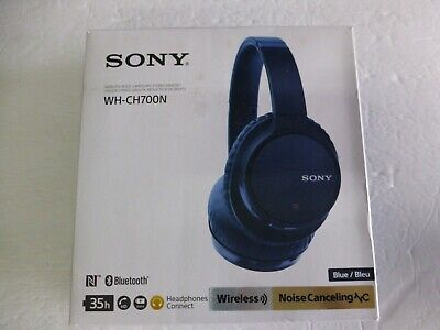 Sony Noise Cancelling Headphones WH-CH700N Wireless Bluetooth Over the Ear (S-1)