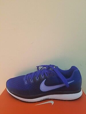online store d3c65 c5b73 Neuf Nike Homme Air Zoom Pegasus 34 Chaussures Course Size 11 Nib