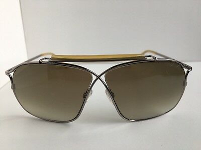 8676a01538002 WOMEN S TOM FORD Felix Tf 194 10P Sunglasses Nickel Excellent ...