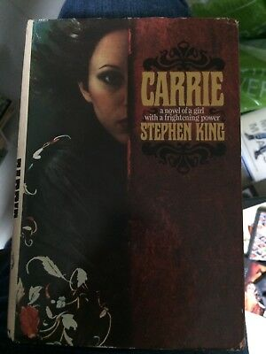 Stephen King - Carrie Hb 1974 ORIGINAL sleeve BCA US Print