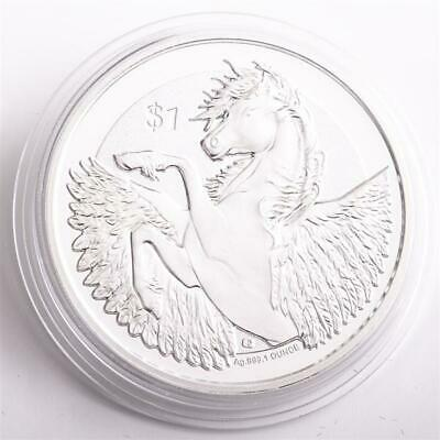 British Virgin Islands 2018 Pegasus -  1 oz.*