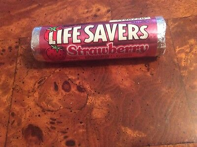 "VTG Lifesavers ""STRAWBERRY "" Super Flavor- Unopened NOS"