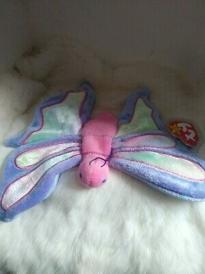 """1999 TY Beanie Baby """"Flitter"""" Retired with Tags"""