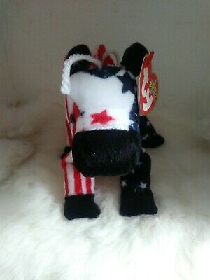 """2000 Ty Beanie Baby """"Lefty"""" retired with tags"""