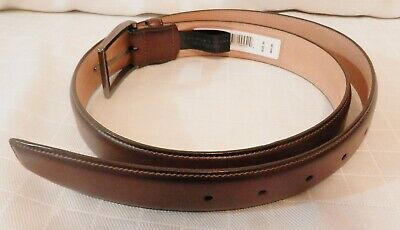c6241ae796f BLOOMINGDALES MENS STORE Reversible Black Brown Leather Dress Belt ...