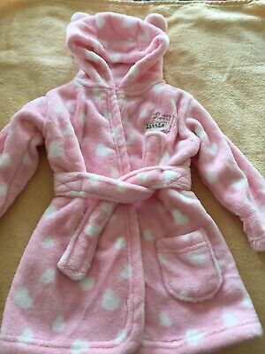 George 6-9 Months Girls Dressing Gown