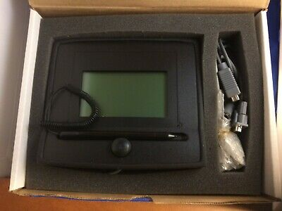 Topaz Systems Model T-L755-B Signature Gem LCD4X3 Tablet New-Box w/ Disk,Guide
