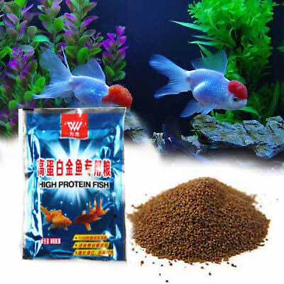 Tropical Floating Fish Native Protein Growth Aquarium Pellets Sink Fish Food BS