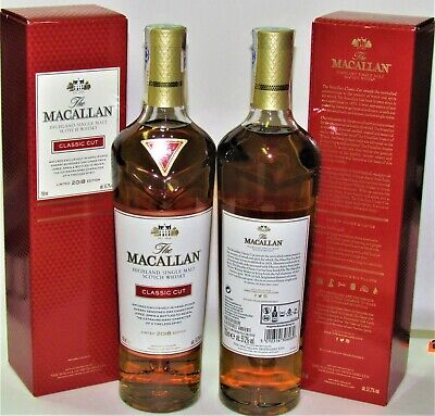 1 x The MACALLAN ♦ Classic CUT 2018 ♦ 70 cl, ♦ LIMITED EDITION ♦ Gift Box