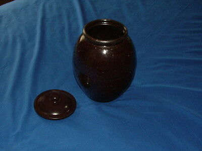 Antique Clinton Missouri Redware Jar