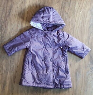 Baby Girl  Jacket Coat Age 6 Months