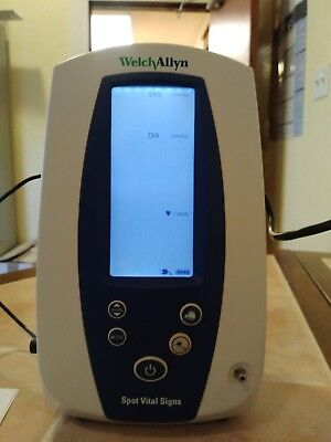Welch Allyn Spot Vital Signs Monitor - 4200B-E1 - NIBP, Pulse Rate, and MAP