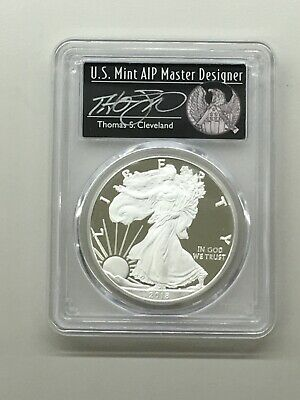 2018 W Proof Silver Eagle Pcgs Pr70 Dcam Cleveland First Day Issue Freedom Label
