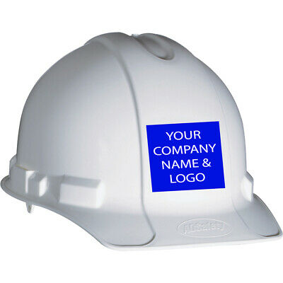 Custom Vinyl Hard Hat Stickers - 50 Pieces Per Order - Various Shapes And Sizes