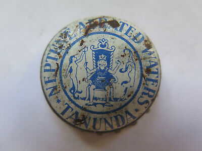 CROWN SEAL BOTTLE CAP NEPTUNE AERATED WATERS TANUNDA SOUTH AUSTRALIA USED c1950s