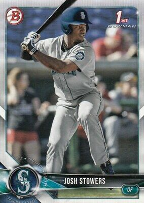 Lot of (25) 2018 Bowman Draft JOSH STOWERS Rookie Card BD-190 Mariners