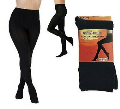 WOMEN WARM SUPER THERMAL THICK FLEECE FOOTLESS TIGHTS EXTREME HOT 4.9TOG LADIES