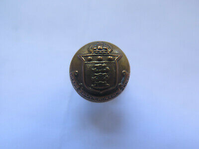 INDIA ARMY ORDNANCE CORPS VERY TINY BRASS BUTTON by Wm DOWLING & Sons?? c1920s