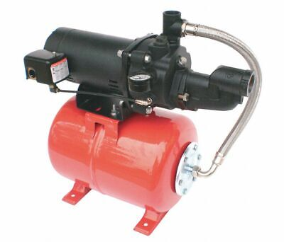 "DAYTON 1/2 HP Shallow Well Jet Pump System 10.8/5.5 Amps 1-1/4"" NPT Inlet 5UXK8"