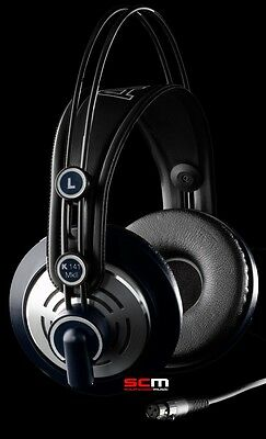 7a3671d26b9 Akg K141 Mkii Hi Fi Pro Stereo Headphones Studio & Personal Ipod Head  Phones New