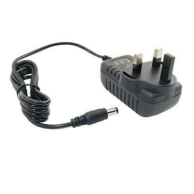 UK AC/DC Adapter Power Supply for Mooer Audio Solo Guitar Effect Pedal