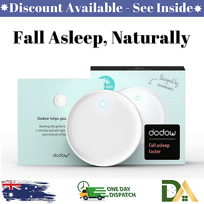Dodow Sleep Aid Device Fall Asleep Naturally Stress Reliever Fast Acting Calm