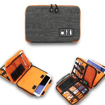 Universal Electronics Accessories Organizer, Travel Gear Carry Bag for Cables