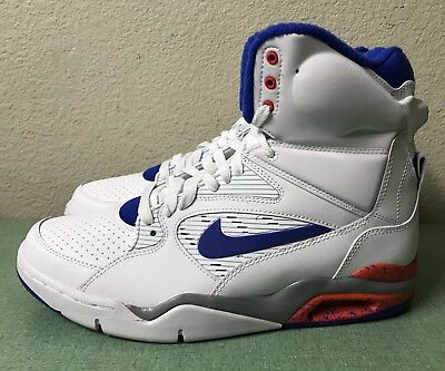 Nike Air Command Force White Blue Bright Crimson Mens Sz 10 Billy Hoyle NEW! e74f939f273