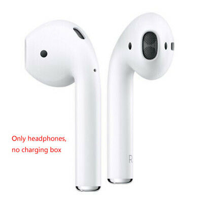 Apple AirPods White Wireless Bluetooth Headsets LEFT & RIGHT DHL TOP