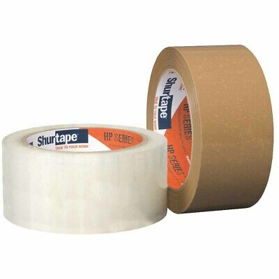 "Shurtape 207184 HP 100 Hot Melt 3"" Packaging Tape, Clear, 72mm x 50m"