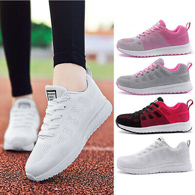 Biking Shoes Ladies Running Hiking Trainers Breathable Sport Athletic Tennis