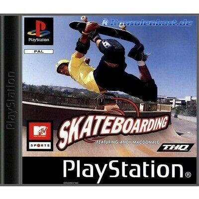 PS1 / Playstation 1 - MTV Sports: Skateboarding feat. Andy MacDonald mit OVP