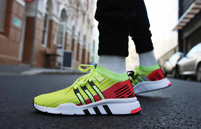 low priced b3663 8e39d adidas eqt support mid adv Glow yellowturbo red B37436 UK 9
