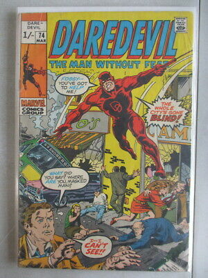 Daredevil Vol. 1 (1964-2011) #74 VG UK Price Variant