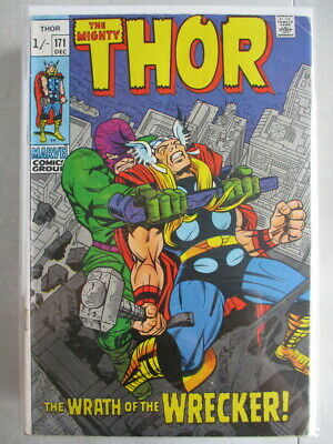 Mighty Thor Vol. 1 (1966-2011) #171 FN- UK Price Variant