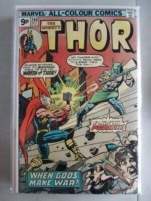 Mighty Thor Vol. 1 (1966-2011) #240 FN UK Price Variant