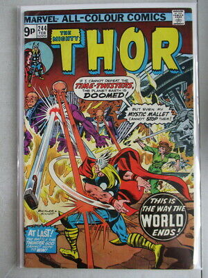 Mighty Thor Vol. 1 (1966-2011) #244 FN/VF UK Price Variant