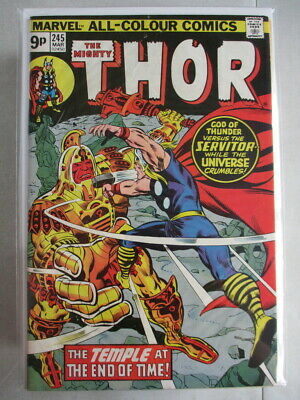 Mighty Thor Vol. 1 (1966-2011) #245 FN- UK Price Variant