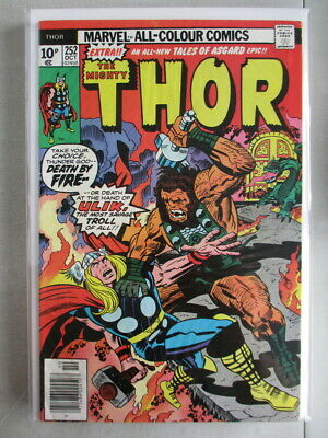 Mighty Thor Vol. 1 (1966-2011) #252 FN UK Price Variant