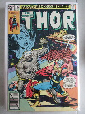Mighty Thor Vol. 1 (1966-2011) #289 VG/FN UK Price Variant